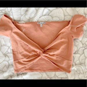 Tops - Twist front cropped top